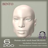 DEMO *6DOO* bento Human mesh head EKASI-05