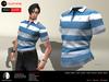 A&D Clothing - Polo -Xavier- Blue