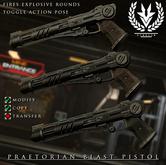 [Echelon] // Praetorian Blast Pistol