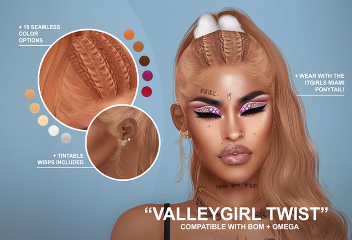 "Babe - ""Valleygirl Twist"" for BOM/Omega"