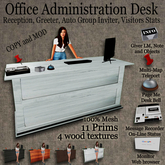 # Office Administration Desk Mesh info Center v 1.8