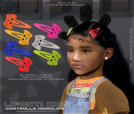 LFK. - Controlla Hairclips - (FATPACK)