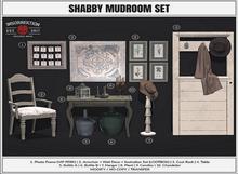 [IK] Shabby Mudroom - Coat Rack