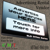 # Ad Board, Advertising Rental Vendor Mesh 1 Prim