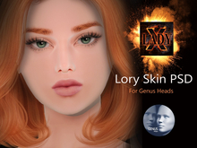 NEW Lady X - Lory PSD (Genus Heads)