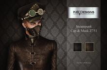 """KiB Designs - Steampunk Cap & Mask Z751 FATPACK """"Wear"""""""