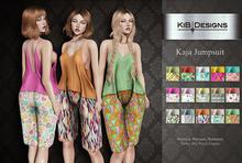 KiB Designs - Kaja Jumpsuit FATPACK