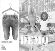 Admirable- Denim Jeans (Demo)