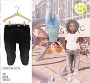 Admirable- Denim Jeans (Black)