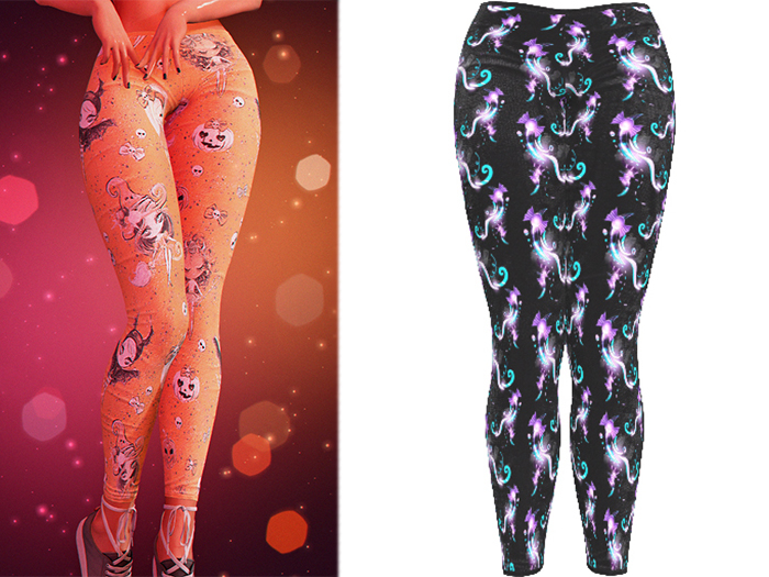!PCP :: Kore Leggings [Witchy Moon]
