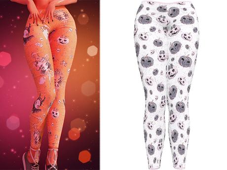 !PCP :: Kore Leggings [Witchy Pumpkin]