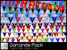 Garlands & Bunting * Garland Deluxe Pack * copy/mod