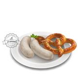 8.erratic / oktoberfest - weisswurst plate