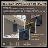 AVALON : Spot Light MM01-01 (180 deg) Box