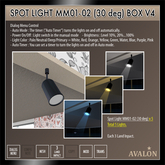 AVALON : Spot Light MM01-02 (30 deg) Box