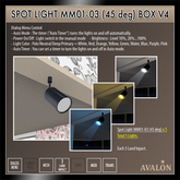 AVALON : Spot Light MM01-03 (45 deg) Box