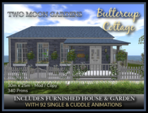 TMG - BUTTERCUP COTTAGE - Furnished House with a landscaped garden*