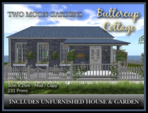 TMG - BUTTERCUP COTTAGE - Unfurnished House with landscaped garden