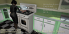 Eclectica Curiosities- 50's Kitchen Stove
