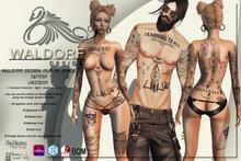 Waldorf Design. OOS Full BodyTattoo