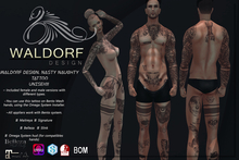 Waldorf Design. Nasty Naughty Tattoo (BOM)