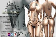 Waldorf Design. FMH Full BodyTattoo (BOM)