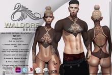 Waldorf Design. Blackout Tattoo