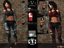 V-Twins - Panther Casual for Maitreya,  Belleza Freya & Venus, and Slink