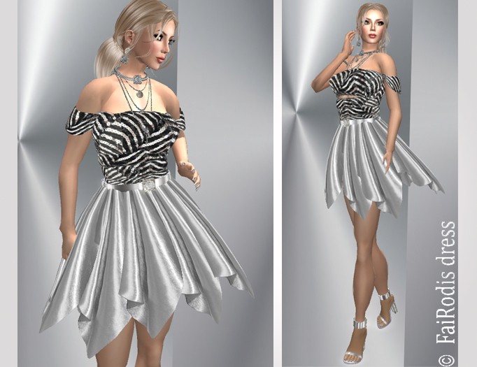 FaiRodis Silver City dress  pack FOR ALL AVATARS