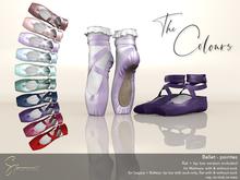 S&P Ballet pointes colours (wear to unpack)