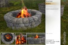 Sway's [Edan] Stone Firepit