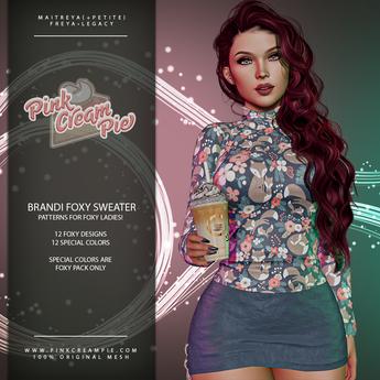 !PCP :: Brandi Sweater [Foxy Pack]