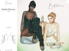 S&P Ballet top white (wear to unpack)