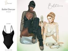 S&P Ballet leotard black (wear to unpack)