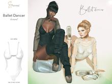 S&P Ballet leotard white (wear to unpack)