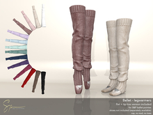 S&P Ballet legwarmers (wear to unpack)
