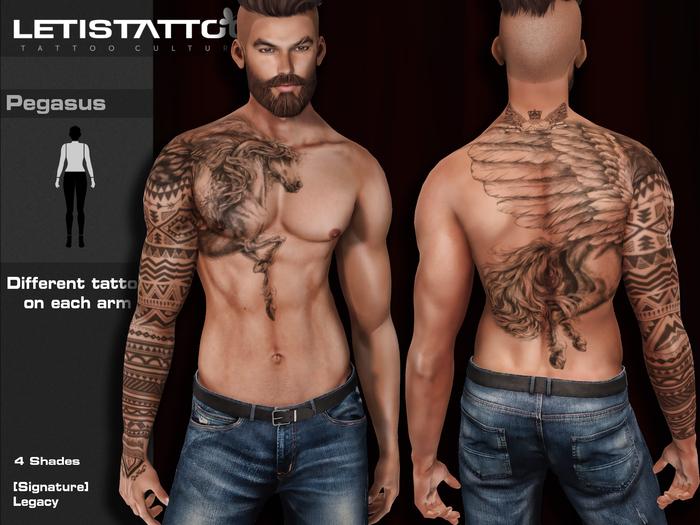 Letis Tattoo :: Pegasus ::