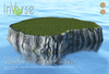 Walkable flat rock island hi-res