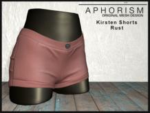 !APHORISM! - Kirsten Shorts - Rust