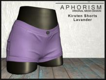 !APHORISM! - Kirsten Shorts - Lavander