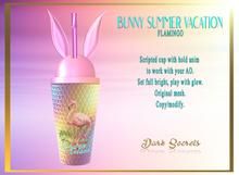 Dark Secrets - Bunny Summer Vacation Flamingo - Add