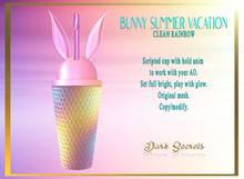 Dark Secrets - Bunny Summer Vacation Rainbow - Add