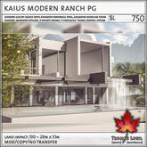 Trompe Loeil - Kaius Modern Ranch PG V1.2 [mesh]