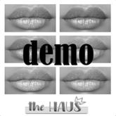 .:the-HAUS:. Carmin Lipstick Pallet DEMO