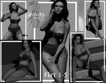 Gravity Poses  -   Flirt 1-5