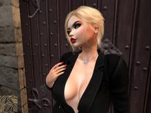 *VR* Dragon Necklace Silver