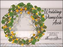 Boudoir-Wedding Pumpkin Arch