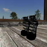 [JG] NEW HEELS STRAPPED