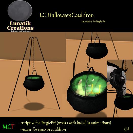 LCHalloweenCauldron for TeeglePet