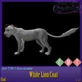 [MC]  White Lion Twi Lion Coat [wear to unpack]